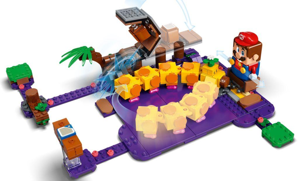 LEGO Super Mario 71383 Wigglers Giftsumpf – Erweiterungsset | ©LEGO Gruppe