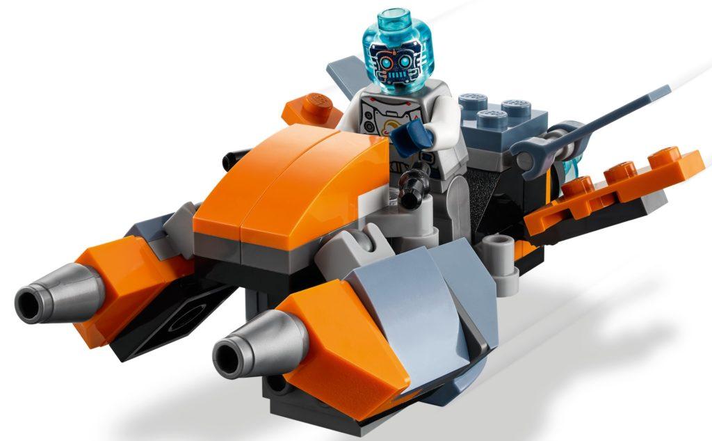 LEGO Creator 3-in-1 31111 Cyber-Drohne   ©LEGO Gruppe