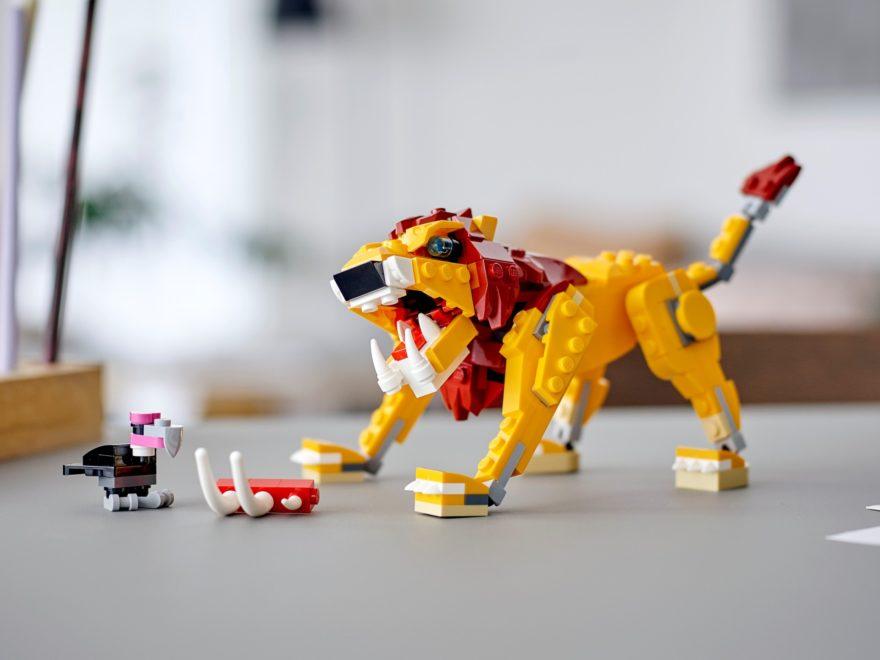 LEGO Creator 3-in-1 31112 Wilder Löwe | ©LEGO Gruppe