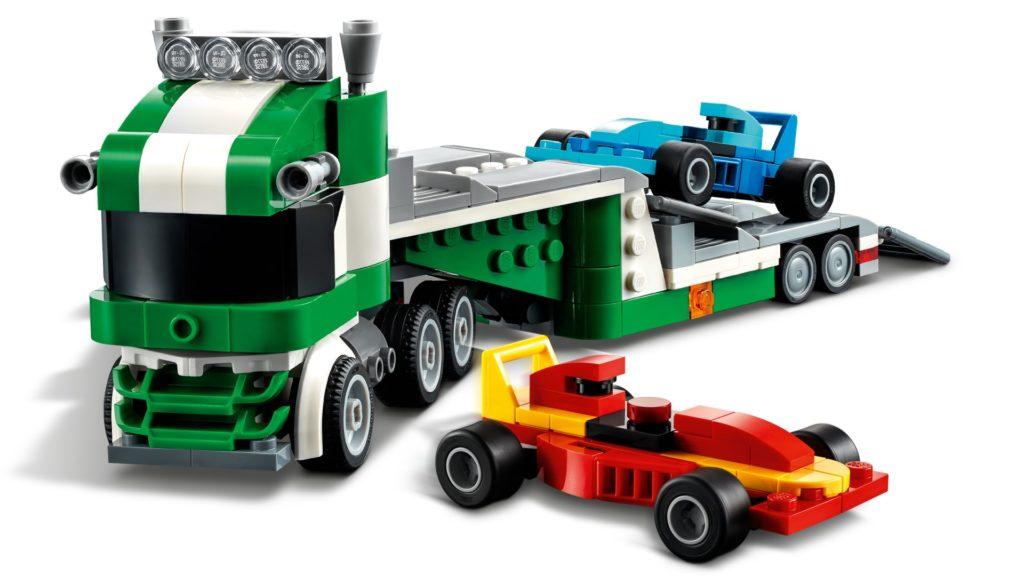 LEGO Creator 3-in-1 31113 Rennwagentransporter   ©LEGO Gruppe