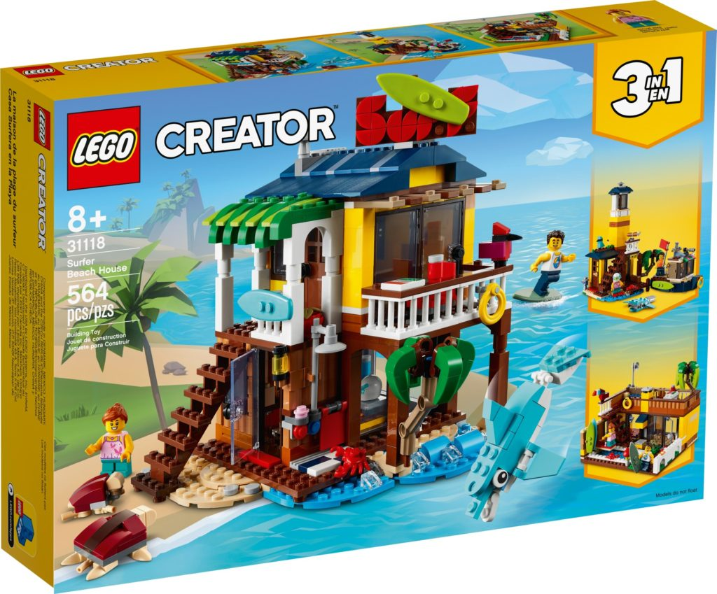 LEGO Creator 3-in-1 31118 Surfer-Strandhaus | ©LEGO Gruppe