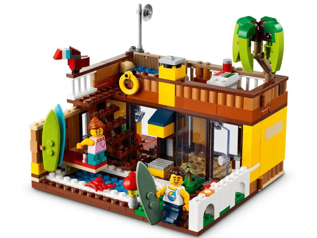 LEGO Creator 3-in-1 31118 Surfer-Strandhaus   ©LEGO Gruppe