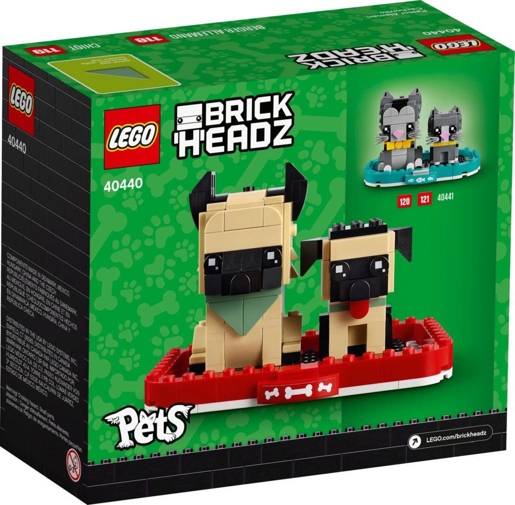 LEGO Brickheadz 40440 Deutscher Schäferhund | ©LEGO Gruppe
