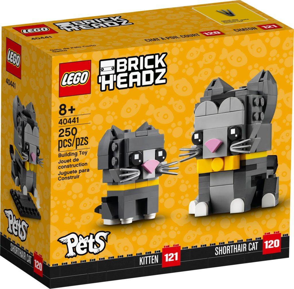 LEGO Brickheadz 40441 Kurzhaarkatzen | ©LEGO Gruppe