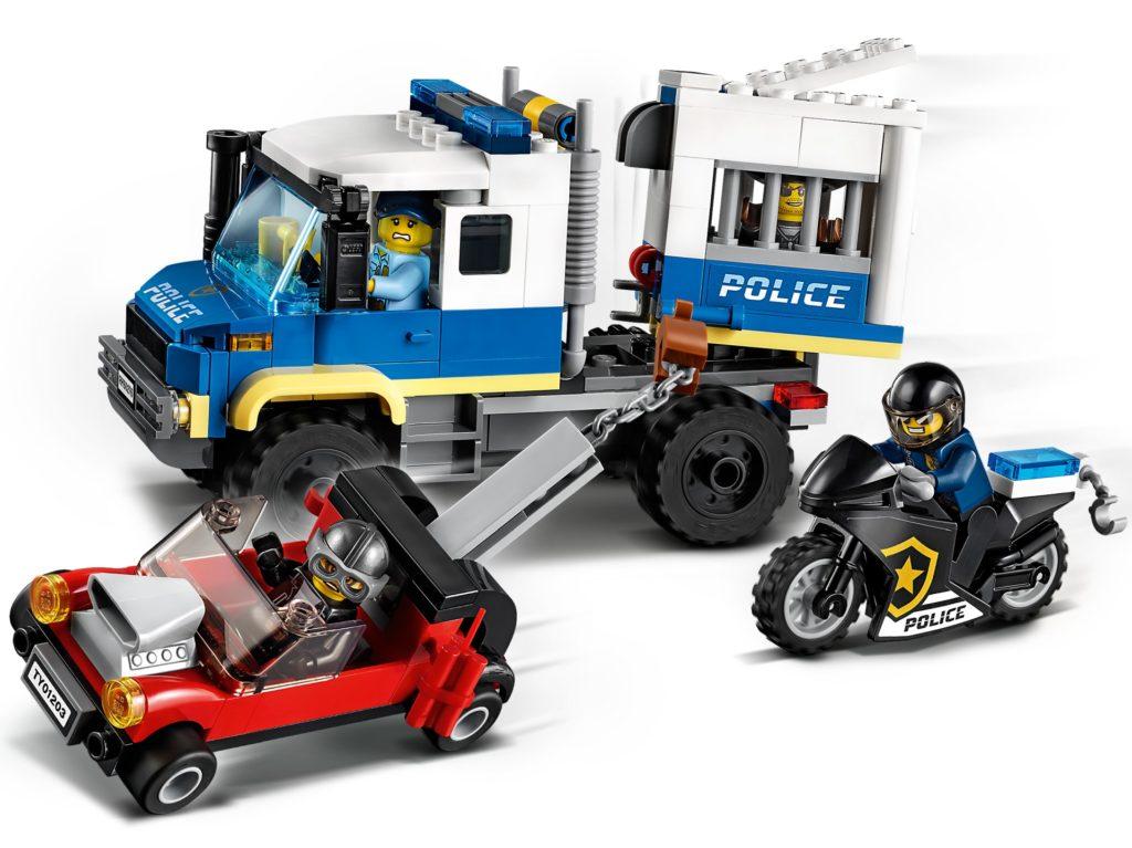 LEGO City 60276 Polizei Gefangenentransporter | ©LEGO Gruppe
