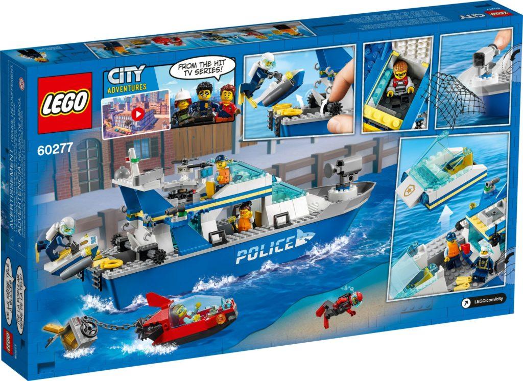 LEGO City 60277 Polizeiboot | ©LEGO Gruppe