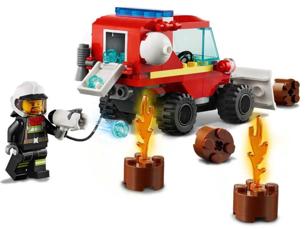 LEGO City 60279 Mini-Löschfahrzeug | ©LEGO Gruppe