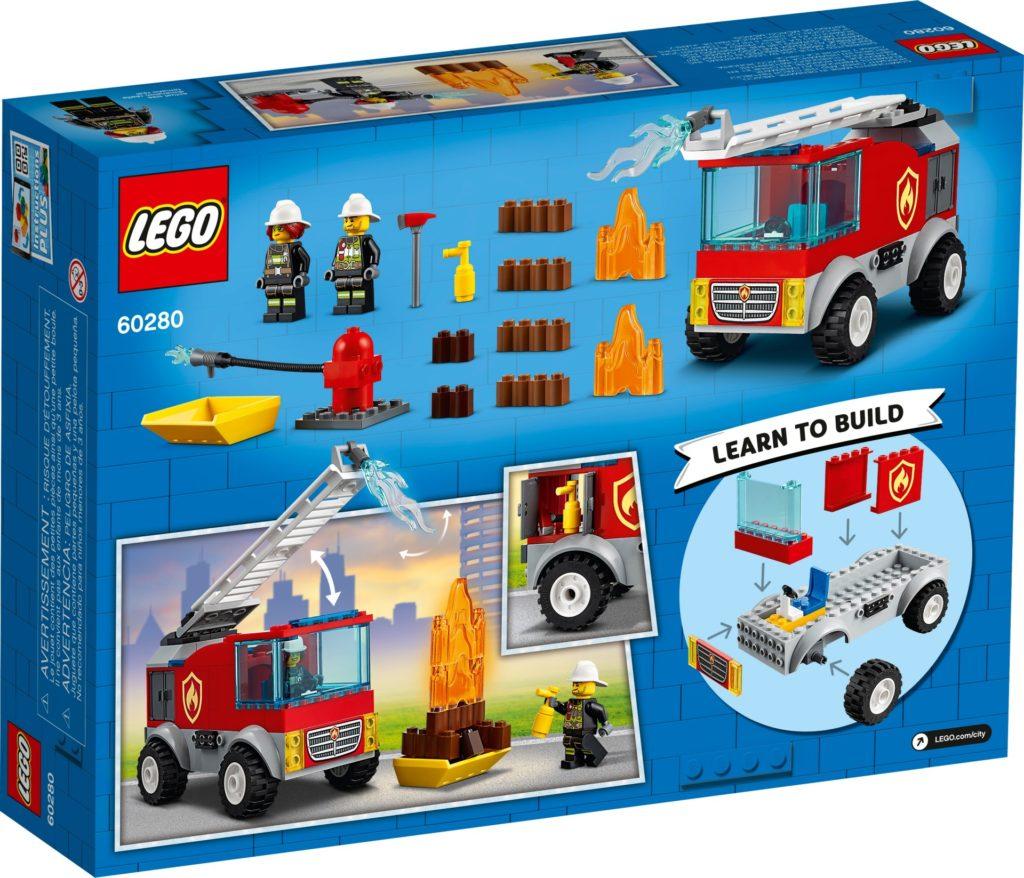 LEGO City 60280 Feuerwehrauto | ©LEGO Gruppe