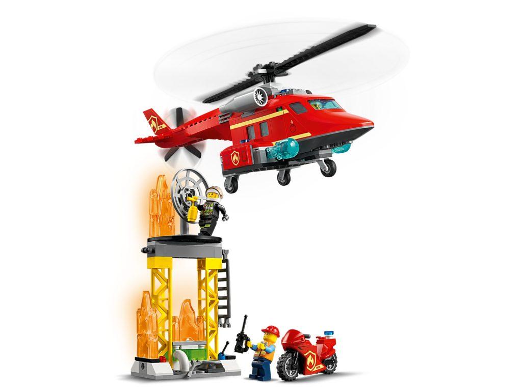 LEGO City 60281 Feuerwehrhubschrauber | ©LEGO Gruppe