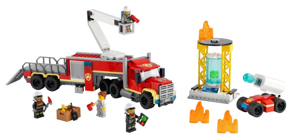 LEGO City 60282 Mobile Feuerwehreinsatzzentrale | ©LEGO Gruppe