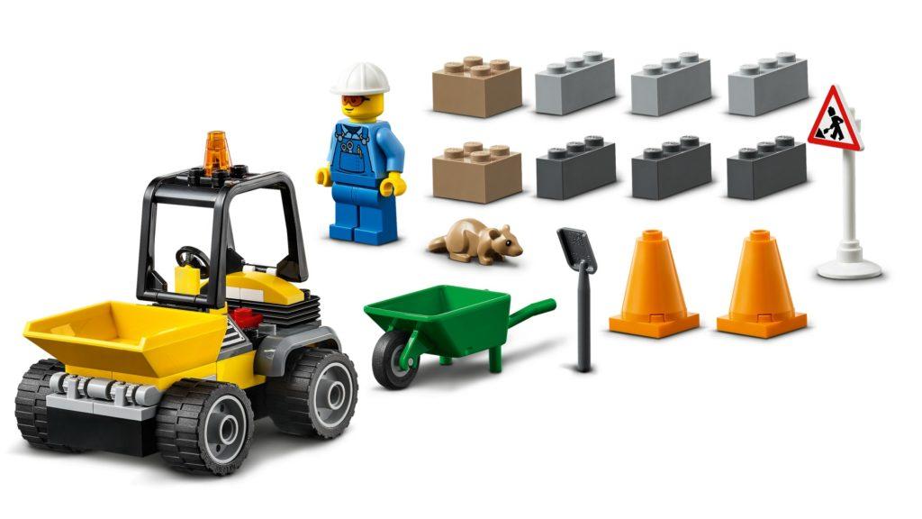LEGO City 60284 Baustellen-LKW | ©LEGO Gruppe