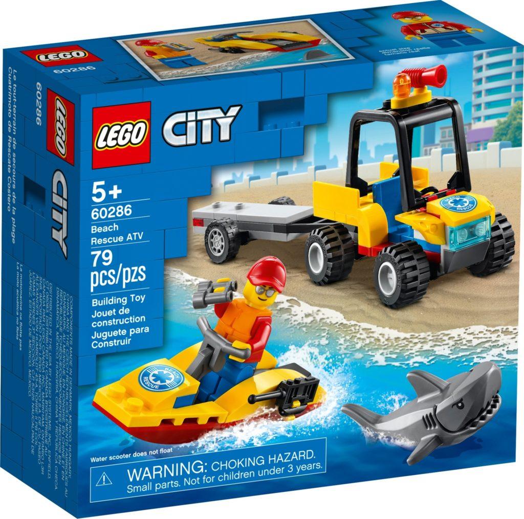 LEGO City 60286 Strand-Rettungsquad | ©LEGO Gruppe