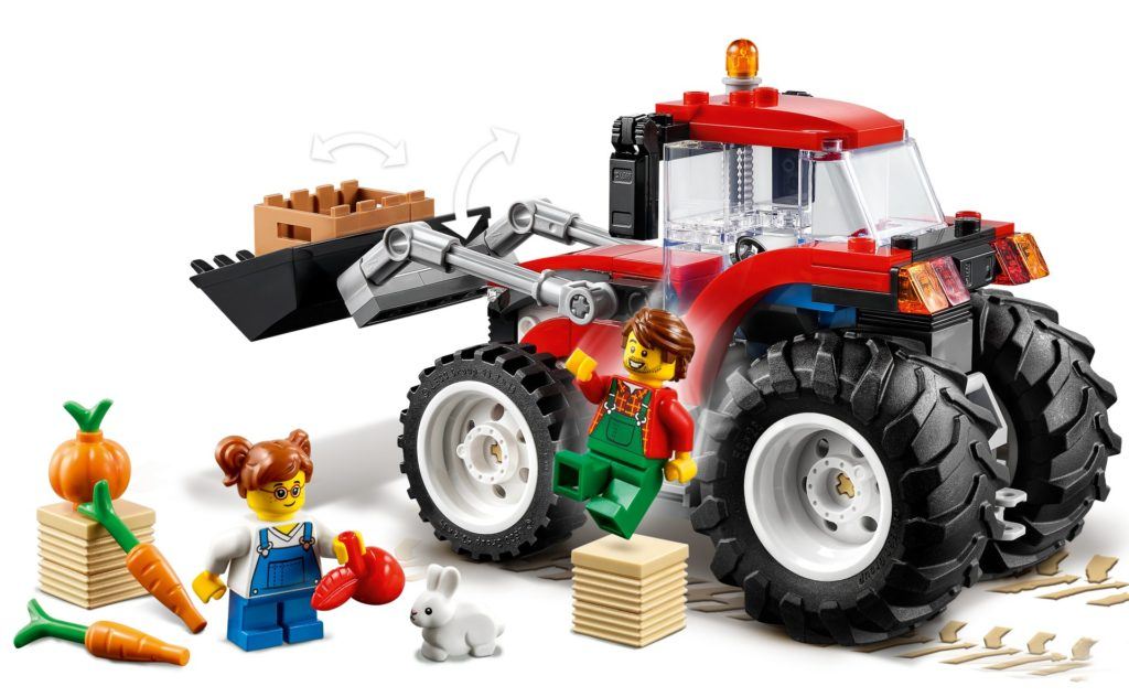 LEGO City 60287 Traktor | ©LEGO Gruppe