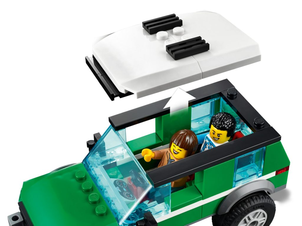 LEGO City 60288 Rennbuggy-Transporter | ©LEGO Gruppe