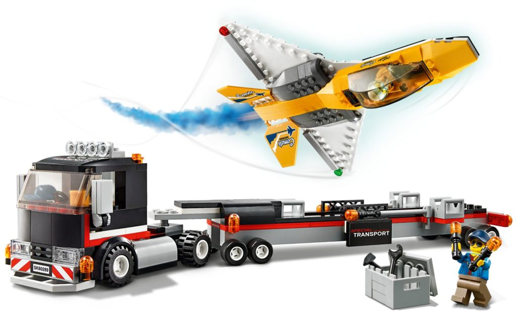 LEGO City 60289 Flugshow-Jet-Transporter | ©LEGO Gruppe