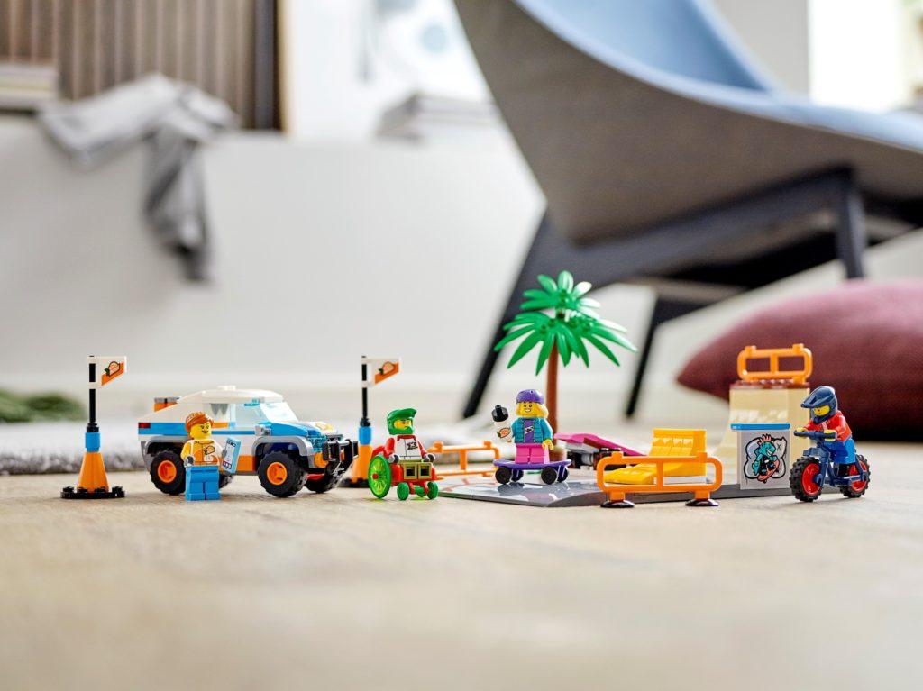 LEGO City 60290 Skate Park | ©LEGO Gruppe