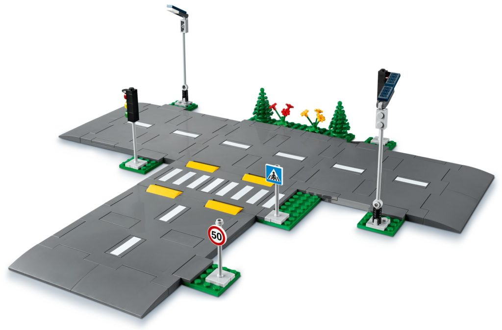 LEGO City 60304 Straßenkreuzung mit Ampeln | ©LEGO Gruppe