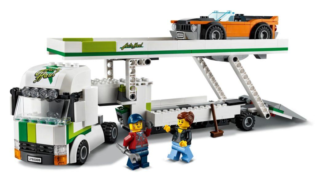 LEGO City 60305 Autotransporter | ©LEGO Gruppe