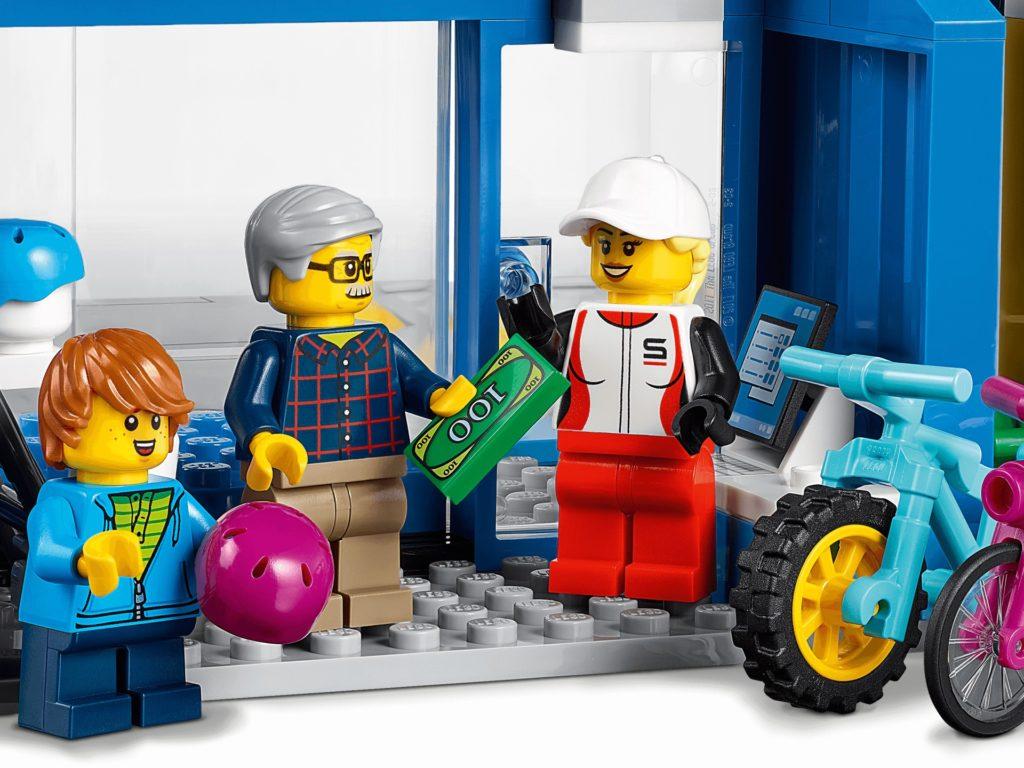 LEGO City 60306 Einkaufsstraße mit Geschäften | ©LEGO Gruppe