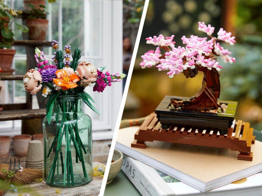 LEGO Creator Expert 10280 Blumenstrauß und 10281 Bonsai Baum ab 1.1.2021 verfügbar