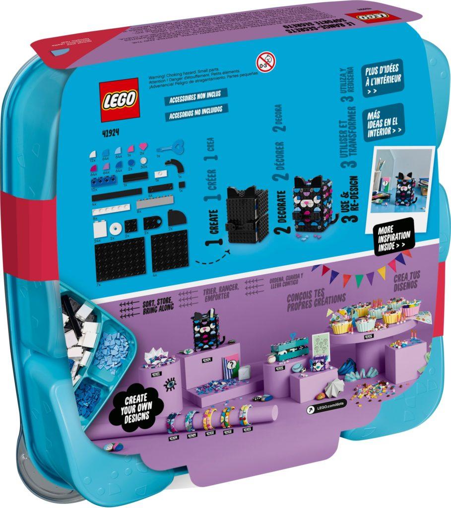 LEGO DOTS 41924 Geheimbox Katze | ©LEGO Gruppe