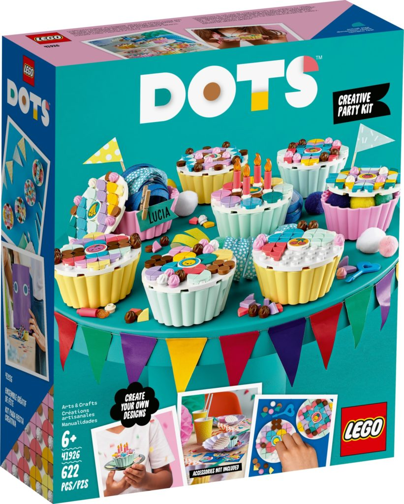 LEGO DOTS 41926 Cupcake Partyset | ©LEGO Gruppe