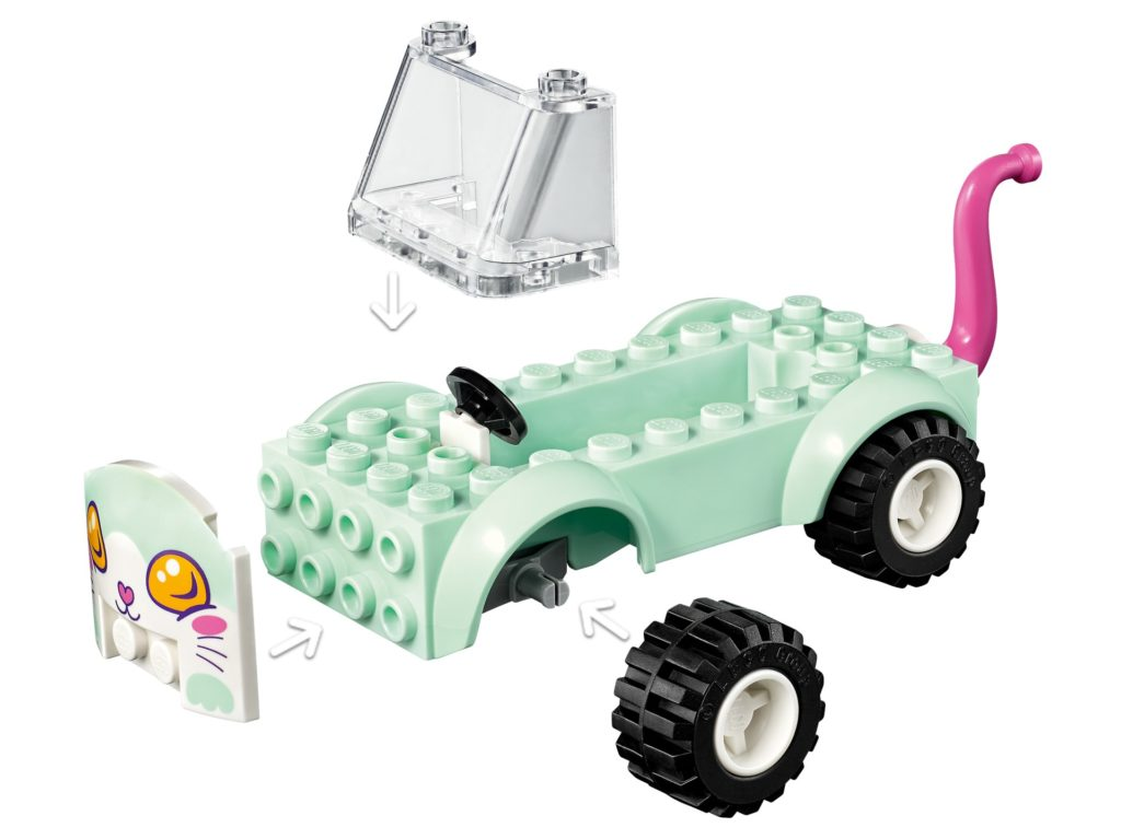 LEGO Friends 41439 Mobiler Katzensalon | ©LEGO Gruppe
