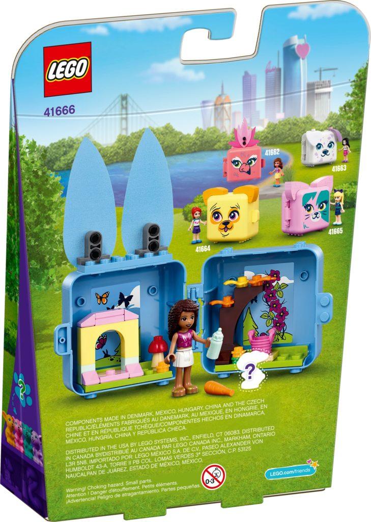 LEGO Friends 41666 Andreas Häschen-Würfel | ©LEGO Gruppe