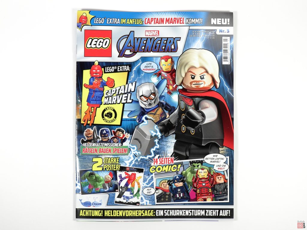 LEGO Marvel Avengers Magazin Nr. 3 - Cover | ©Brickzeit