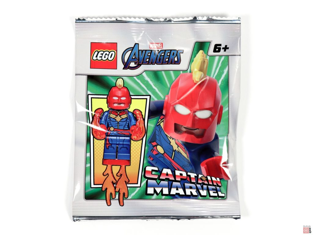 LEGO Captain Marvel Polybag, Item-Nr. 242003 | ©Brickzeit