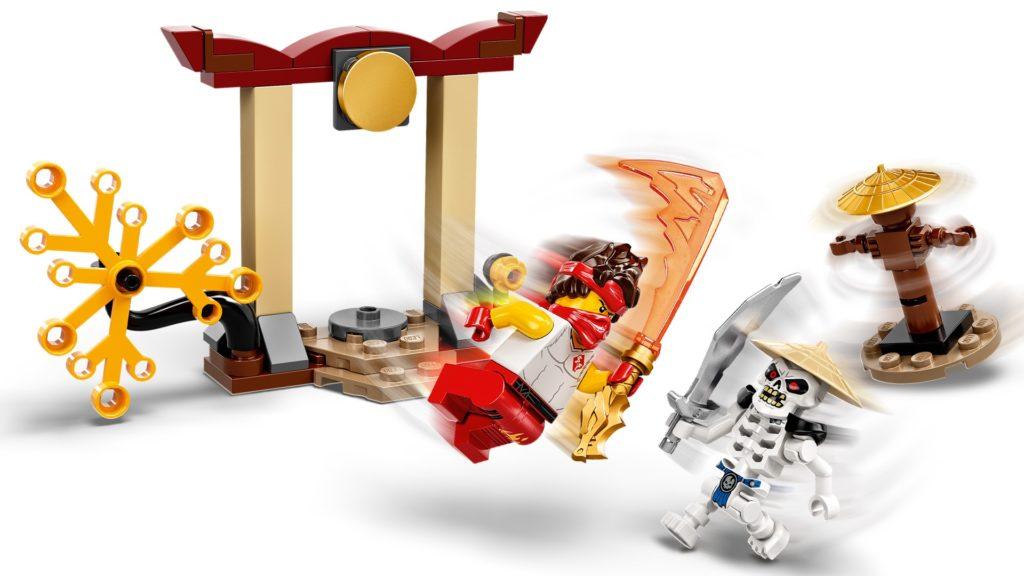 LEGO Ninjago 71730 Battle Set: Kai vs. Skulkin   ©LEGO Gruppe