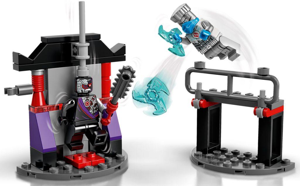 LEGO Ninjago 71731 Battle Set: Zane vs. Nindroid   ©LEGO Gruppe