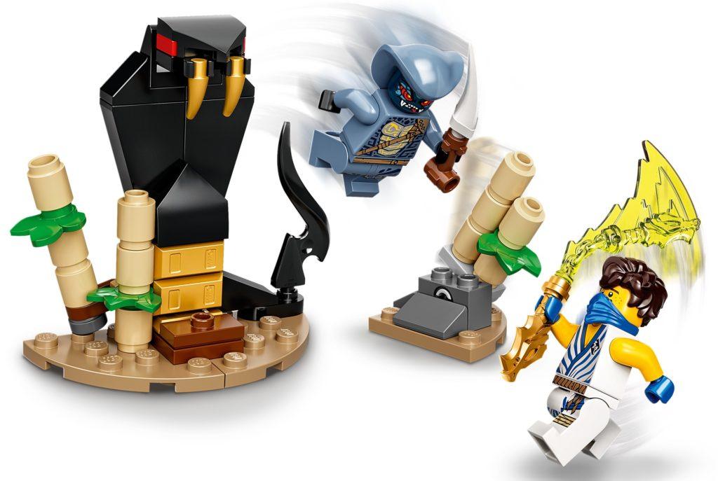 LEGO Ninjago 71732 Battle Set: Jay vs. Serpentine   ©LEGO Gruppe