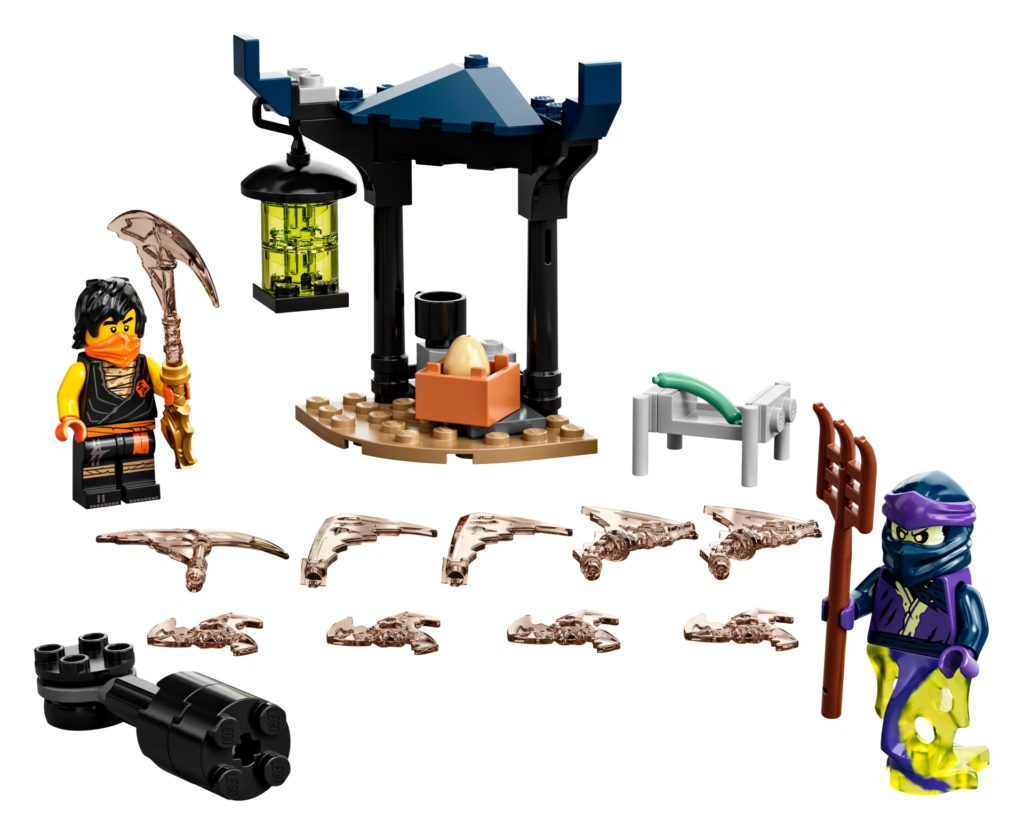 LEGO Ninjago 71733 Battle Set: Cole vs. Geisterkämpfer   ©LEGO Gruppe
