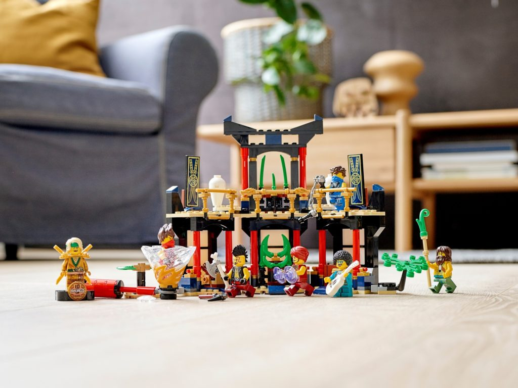 LEGO Ninjago 71735 Turnier der Elemente   ©LEGO Gruppe