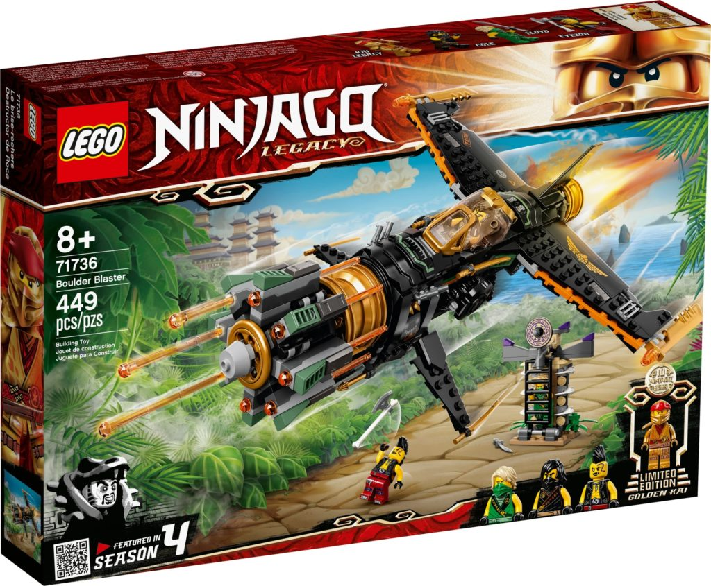 LEGO Ninjago 71736 Coles Felsenbrecher   ©LEGO Gruppe