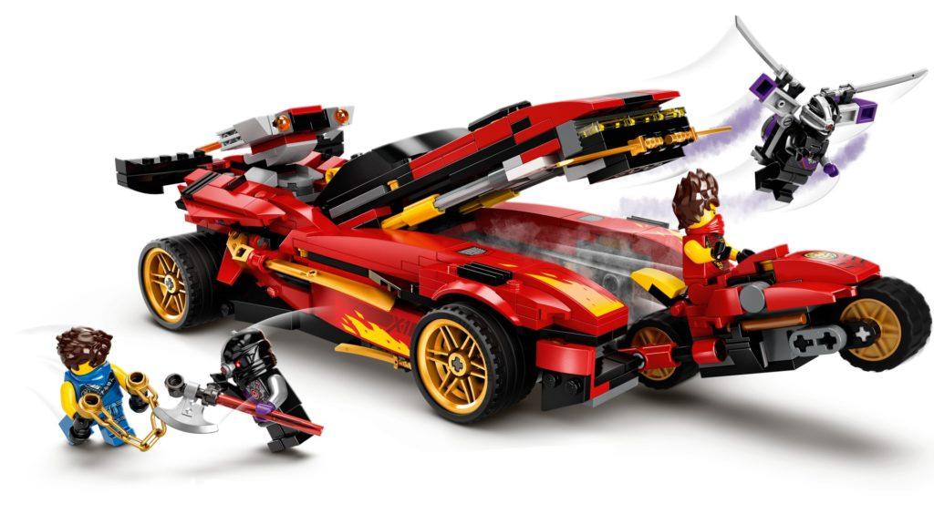 LEGO Ninjago 71737 X-1 Ninja Supercar   ©LEGO Gruppe
