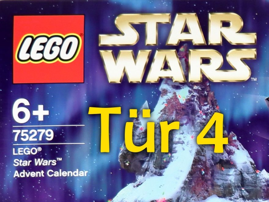 Tür 4 - LEGO Star Wars Adventskalender