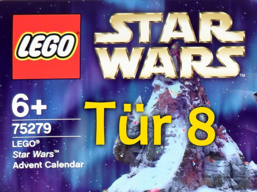 Tür 8 - LEGO Star Wars Adventskalender