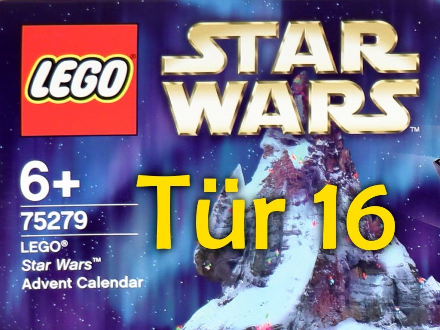 Tür 16 - LEGO Star Wars Adventskalender | ©LEGO Gruppe