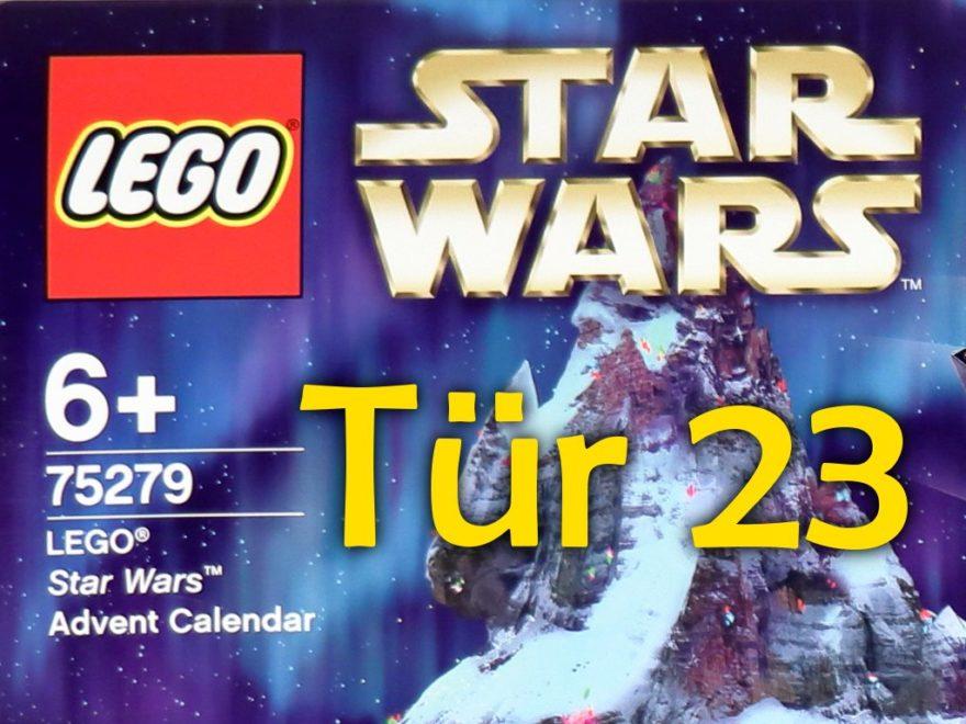 Tür 23 - LEGO Star Wars Adventskalender | ©LEGO Gruppe