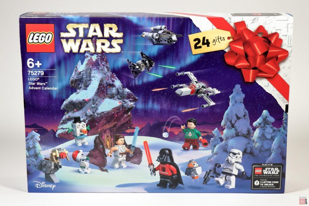 LEGO Star Wars 75279 Adventskalender 2020 - Vorderseite | ©Brickzeit