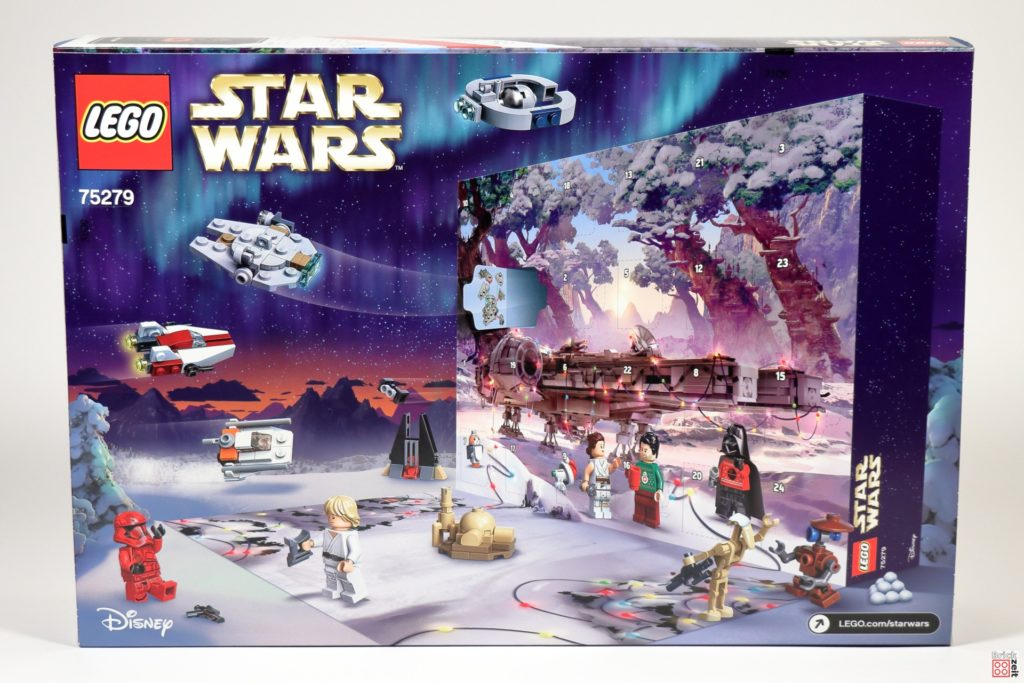LEGO Star Wars 75279 Adventskalender 2020 - Rückseite | ©Brickzeit
