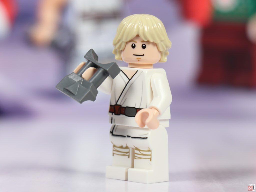 LEGO Star Wars 75279 Adventskalender 2020 - Tür 4, Luke Skywalker mit Elektrofernglas | ©Brickzeit