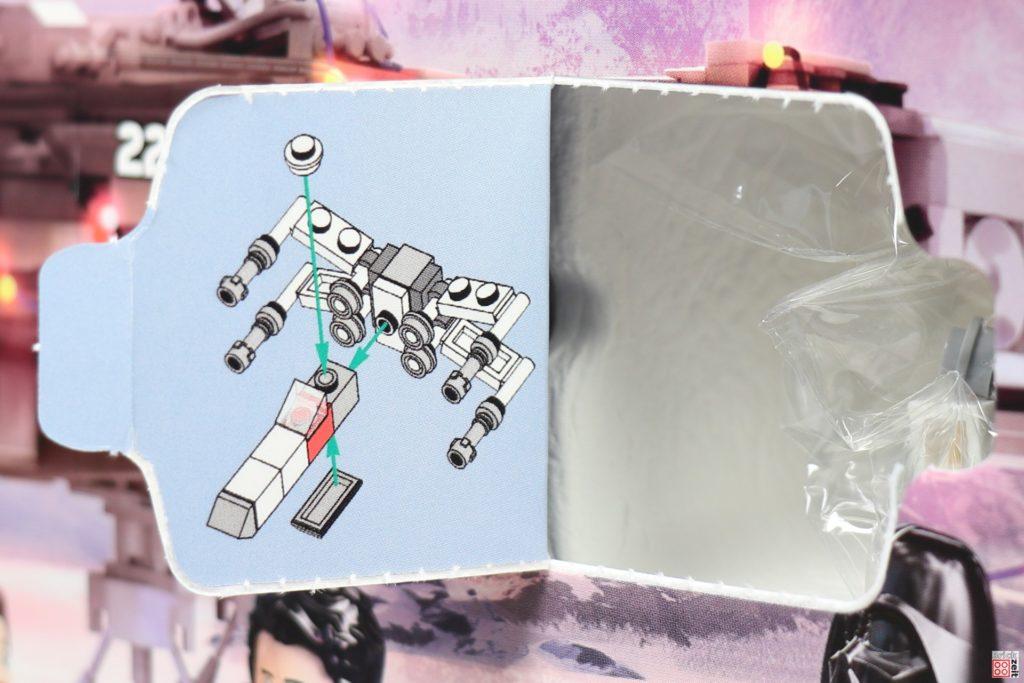 LEGO Star Wars 75279 Adventskalender 2020 - Tür 8, X-Wing Bauanleitung | ©Brickzeit