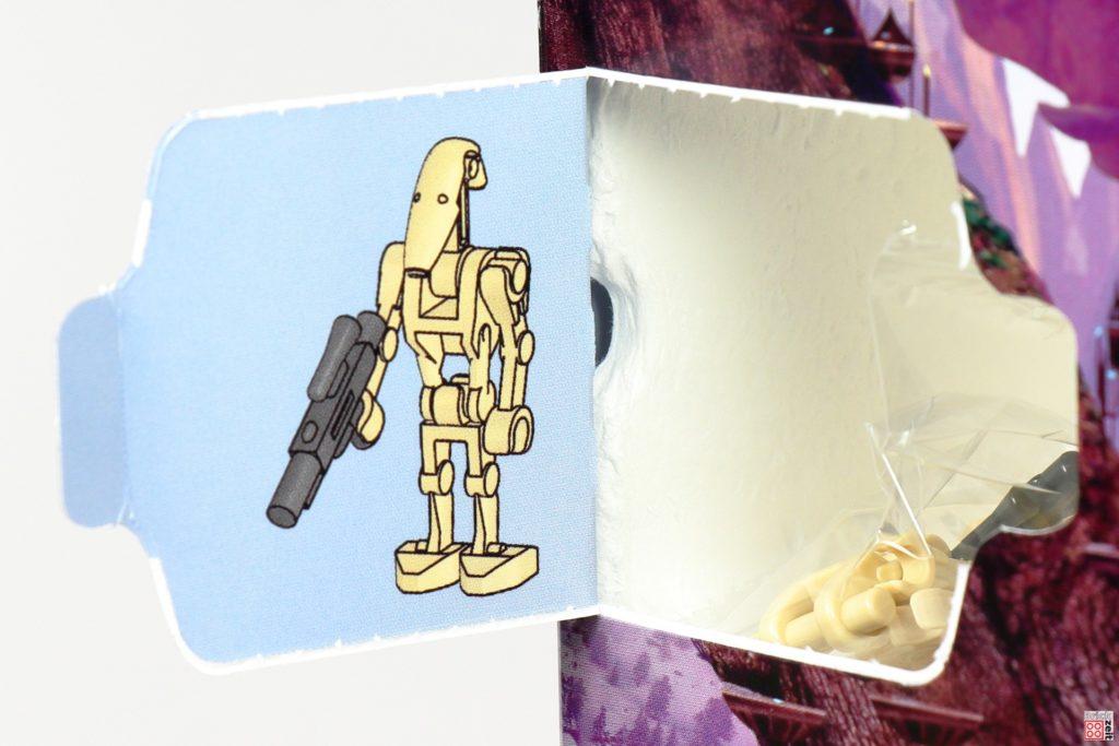 LEGO Star Wars 75279 Adventskalender 2020 - Tür 14, Bauanleitung Kampfdroide   ©Brickzeit