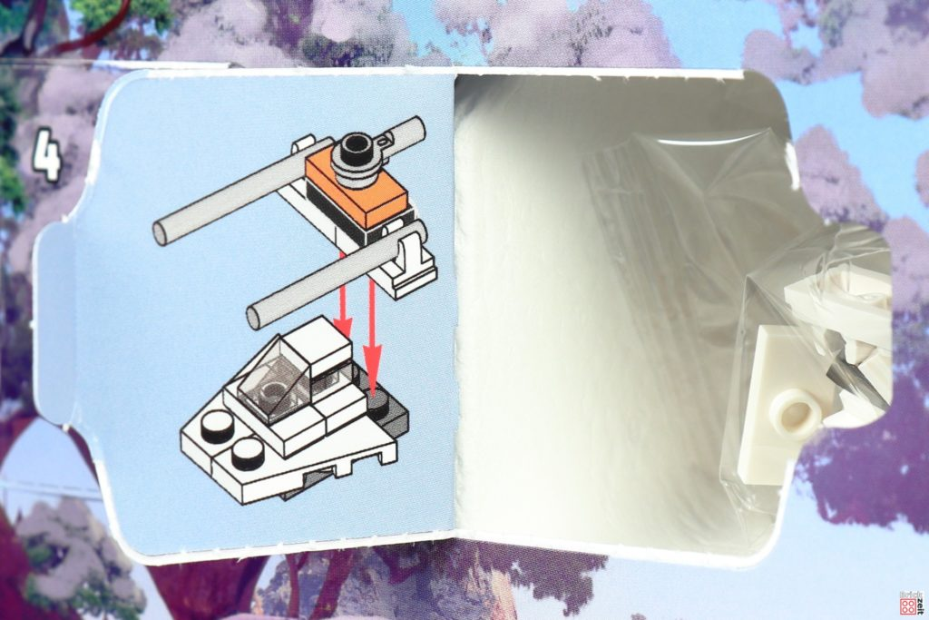 LEGO Star Wars 75279 Adventskalender 2020 - Tür 18, Bauanleitung Snowspeeder | ©Brickzeit