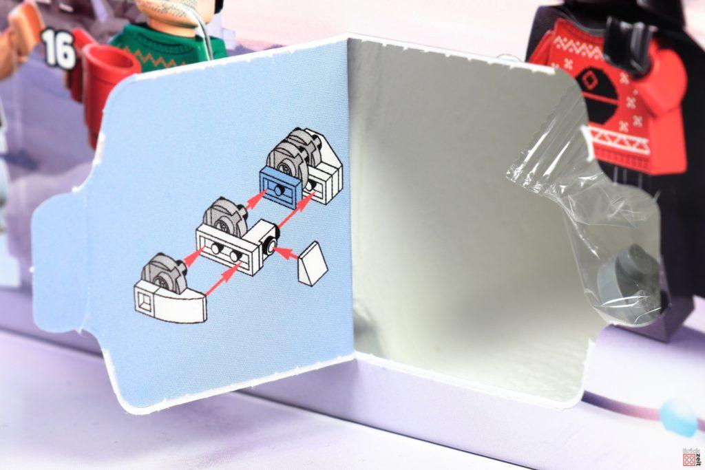 LEGO Star Wars 75279 Adventskalender 2020 - Tür 20, Bauanleitung Schildgenerator   ©Brickzeit