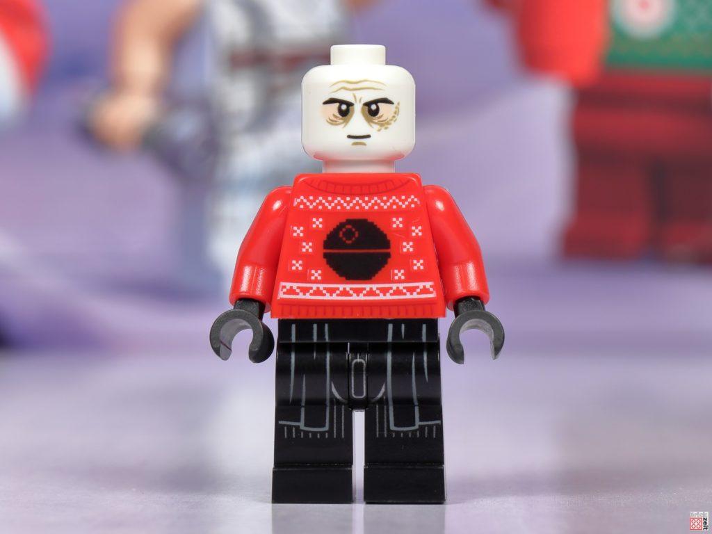 LEGO Star Wars 75279 Adventskalender 2020 - Tür 24, Darth Vader mit Weihnachtspulli | ©Brickzeit