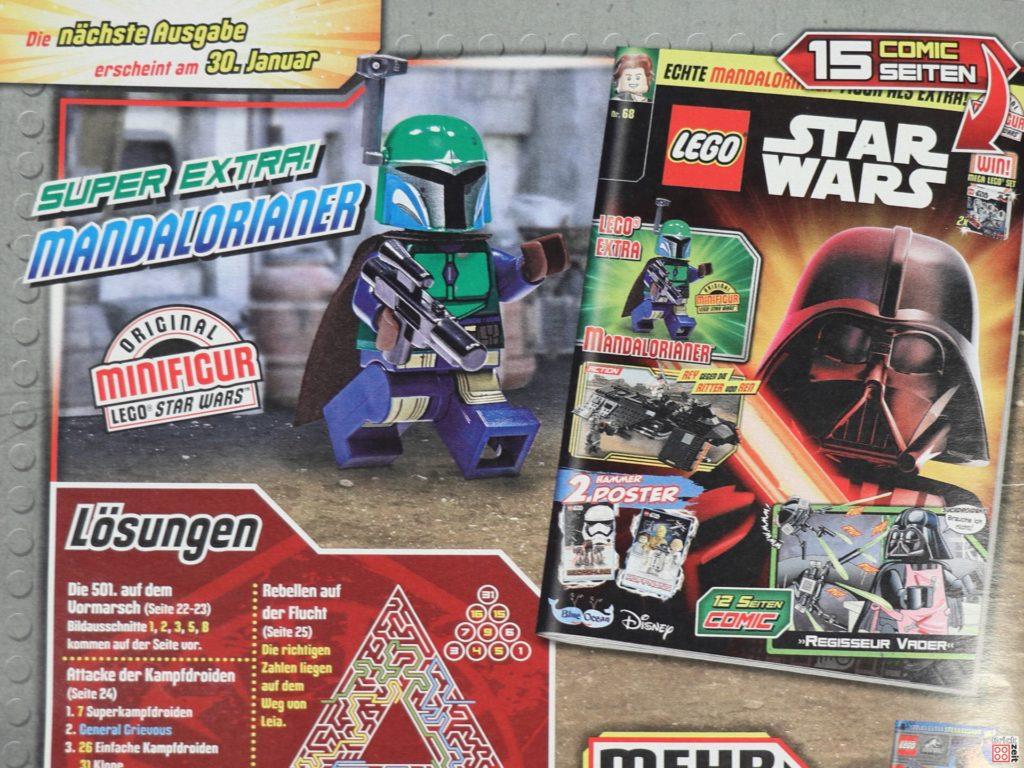 Heftvorschau - LEGO Star Wars Magazin Nr. 68 mit Mandalorianerin | ©Brickzeit